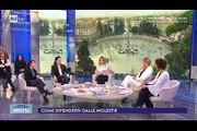 Elena Ballerini,Francesca Fialdini, Alba Parietti, Melissa Panarello,Angela Azaro a La Vita In Diretta