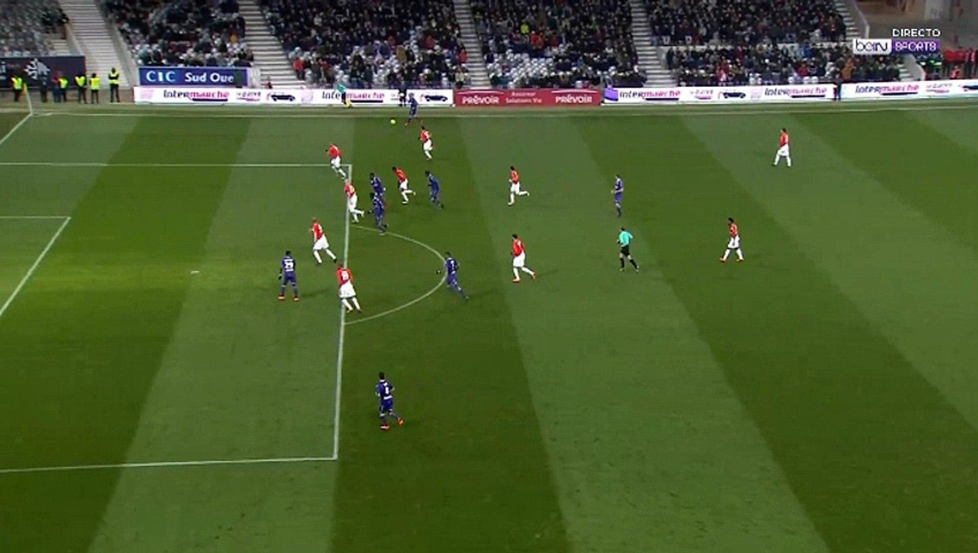 Yaya Sanogo Goal HD - Toulouse 3-3 Monaco 24.02.2018