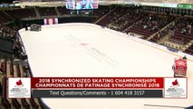 Ouvert – Libre #1 ( 5 au 13) : Championnats de patinage synchronisé 2018 de Patinage Canada (6)