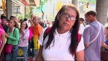 Venezuela: Long queues at banks due to cash crisis