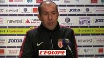 Jardim «Un goût de défaite» - Foot - L1 - Monaco