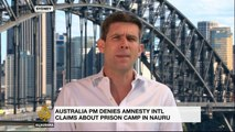 Australian PM denies Nauru prison camp claims