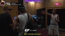 [Sub Español] AHL - Cut Unreleased 4.3 Dance time with J-Hope, Jin, _ a Youtube star!