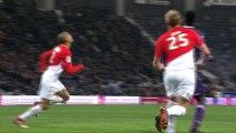 Le pénalty de l'espoir d'Andy Delort face à Monaco