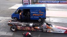 FireForce 5 Jet Car at Santa Pod Raceway - 1-4 Mile 5.07 @ 298mph