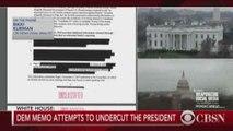 Democrats release rebuttal memo
