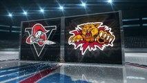 QMJHL Drummondville Voltigeurs 5 at Moncton Wildcats 4