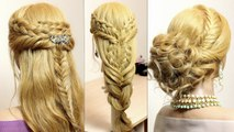 Beautiful & Easy Hairstyles for EveryOne & Everyday - video ...