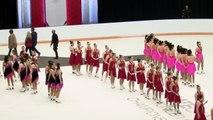 Medal Ceremony Intermediate, Junior, Senior : Championnats de patinage synchronisé 2018 de Patinage Canada (10)