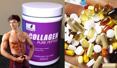 ANTI-AGING COLLAGEN POWDER & FITNESS SUPPLEMENT TIPS | Fit Now with Basedows