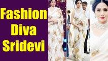 Sridevi के Fashion Sense और Sarees ने Bollywood में उन्हें बनाया trend Setter | Boldsky
