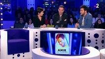 """Le chanteur Amir affirme vouloir donner """"une chance de pardon"""" à Mennel - Regardez"""