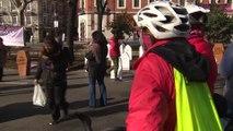 Concentración en Madrid en favor de la acogida de refugiados