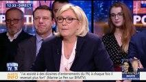 """VIDEO. Marine Le Pen """"épatée"""" par sa nièce après son discours aux Etats-Unis"""