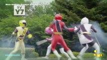 Power Rangers Super Ninja Steel - Power Rangers vs Red Ranger & Game Goblin