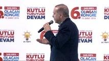 Şanlıurfa Cumhurbaşkanı Erdoğan AK Parti Şanlıurfa İl Kongresi'nde Konuştu -3