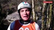 Eurolympiques de Canoë-kayak. Angèle Hug remporte la course Junior dame canoë monoplace