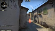 What did just happen? Did the AWP shoot the Molotov back