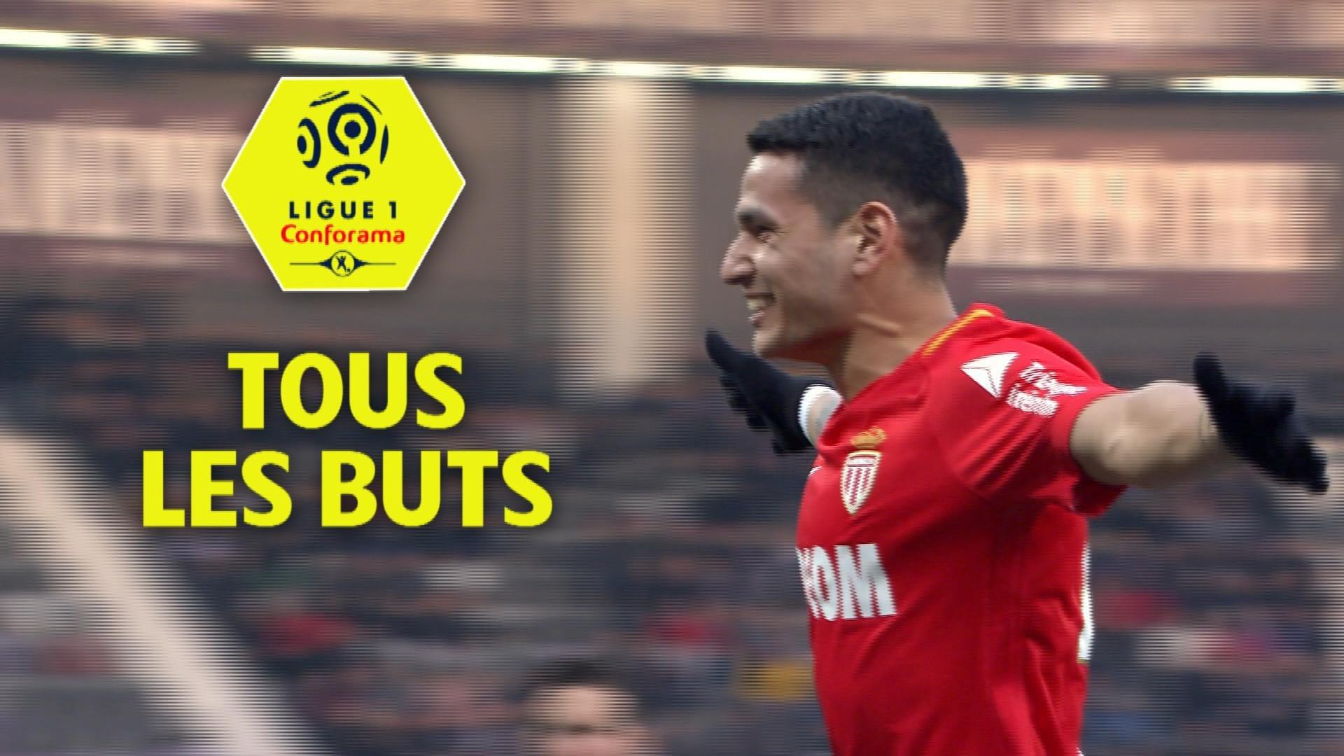 Tous les buts de la 27ème journée - Ligue 1 Conforama / 2017-18