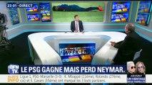 PSG/OM : Paris écrase facilement l'OM, Neymar blessé