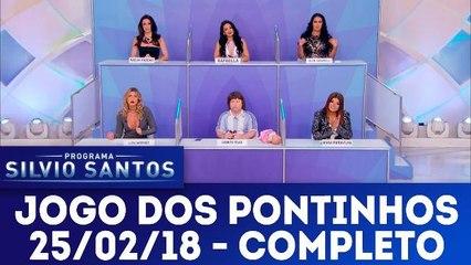 Jogo dos Pontinhos  - Programa Silvio Santos - 25.02.18
