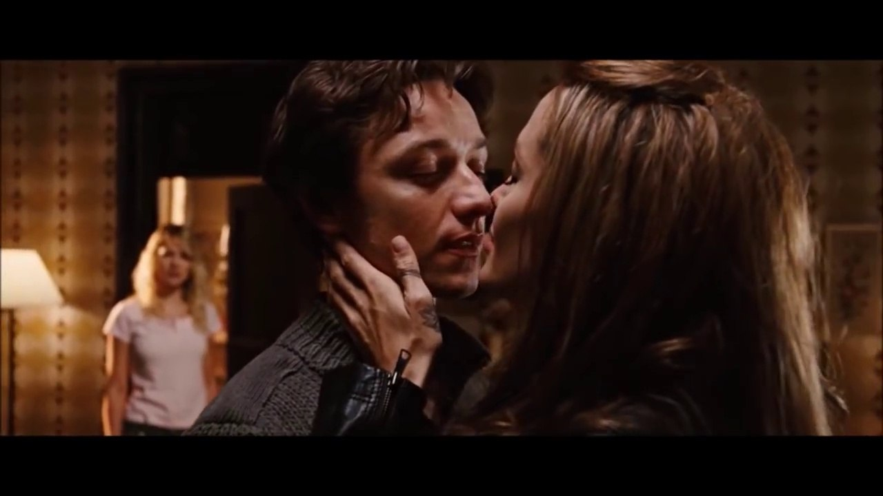 Angelina Jolie Naked Scene angelina jolie and james mcavoy combination scenes from the