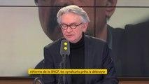 """""""Autant les ordonnances étaient annoncées sur le code du travail, autant on n'a jamais parlé d'ordonnances sur la #SNCF il y a une tentation de vouloir passer en force"""" pour Jean-Claude Mailly (FO)"""