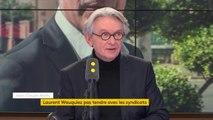 """#Wauquiez : """"Il n'est pas piégé, il sait ce qu'il fait. Tout ce qu'il a dit, je pense qu'il l'a dit volontairement"""" estime Jean-Claude Mailly (FO)"""