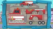 Полицейская машина и пожарная машина - Обучающий мультик про машинки