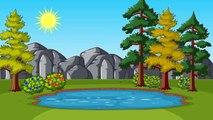 Учим цвета - Веселый динозавр, необыкновенный мультфильм для детей
