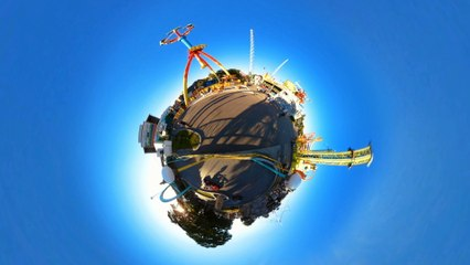 Planet Vienna in 4k (360° Time-lapse)
