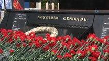 - Azerbaycan Hocalı Katliamı'nı 26. yıl dönümünde anıyor- Azerbaycan Cumhurbaşkanı Aliyev Hocalı Katliamı'nın Anma Töreninde Katıldı
