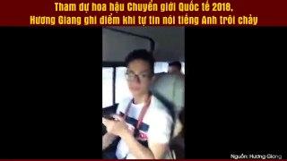 Tham du hoa hau Chuyen gioi Quoc te 2018 Huong Gia