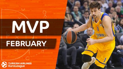 MVP for February: Alexey Shved, Khimki Moscow Region
