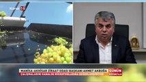 Akhisar Ziraat Odası Başkanı Ahmet Akbuğa Kanal 58'de günün konuğu oldu