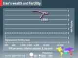 Global fertility rates   The Economist