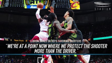 LeBron Calls Out Refs for Favoring Shooters