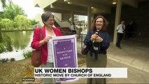 Church of England vote backs women bishops