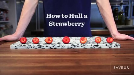 How to Hull a Strawberry