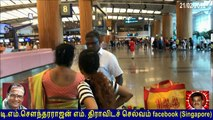 S Ganesan went to  Singapore   10.02.2018  vol  5    singapore changi airport