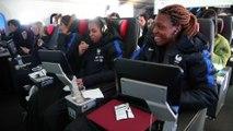 Voyage et installation des Bleues aux USA I She Believes Cup 2018