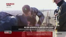 80 000 arbres plantés en 5 ans