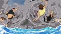 Luffy Encounters Mihawk English Dubbed - YouTube