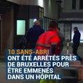 En Belgique, des SDF sont arrêtés pour être protégés du froid