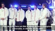 Après les Jeux, place à la fête pour les médaillés français