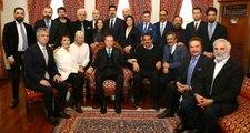 Erdoğan, Kendisini Ziyaret Eden Ünlülerden Yavuz Bingöl ve Cengiz Kurtoğlu'nu Uyardı