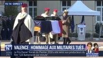 La ministre des Armées, Florence Parly, a rendu hommage à Valence aux deux soldats tués au Mali