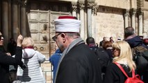 İsrail'in 'kiliseleri vergilendirme' planına tepkiler - Kudüs Şeriat Mahkemesi Başkanı Bekri - KUDÜS