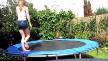 Accidentes Graciosos en Trampolines!! FAILS de Trampolines!