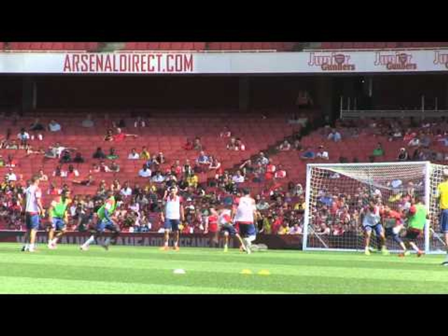Alexis Sanchez and Yaya Sanogo combine for great Arsenal goal